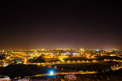 Photograph - The City Of Jerusalem by David Morefield