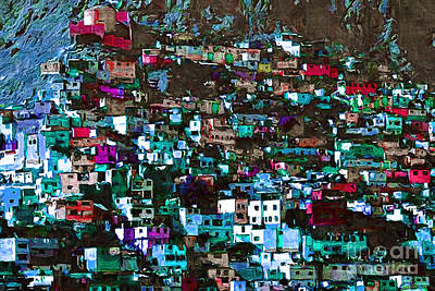 The City On The Hill V1p168 Print by Wingsdomain Art and Photography