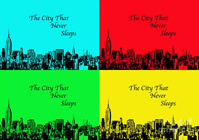 Photograph - The City That Never Sleeps by Kerri Farley