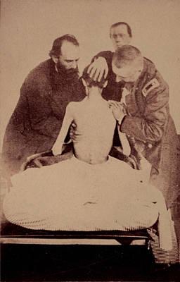 The Civil War, Doctors Examining Print by Everett