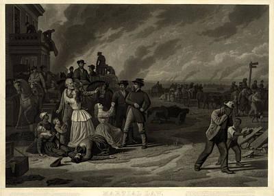 The Civil War, Martial Law. The Art Print