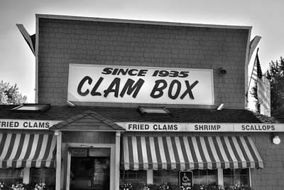 The Clam Box Art Print by Joann Vitali