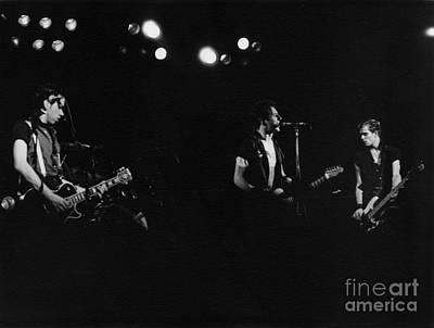 The Clash Photograph - The Clash 1978 by Joyce Weir