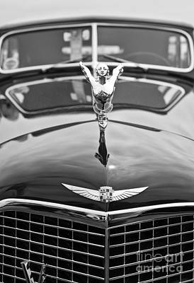 Custom Grill Photograph - The Classic Cadillac Car At The Concours D Elegance. by Jamie Pham