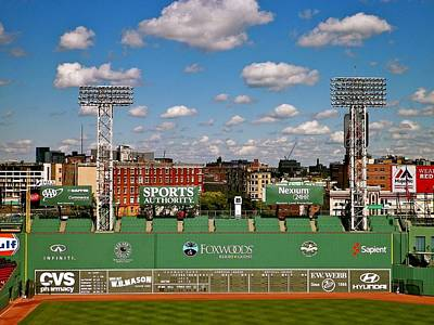 Photograph - The Classic II Fenway Park Collection  by Iconic Images Art Gallery David Pucciarelli