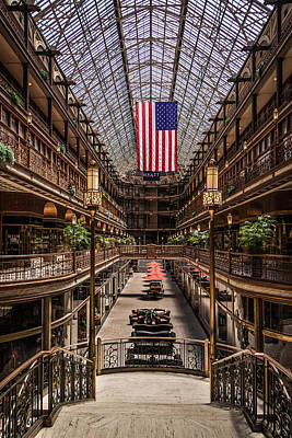 Gold Pattern - The Cleveland Arcade by Dale Kincaid