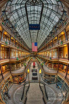 The Cleveland Arcade Vii Art Print