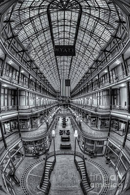 Photograph - The Cleveland Arcade Viii by Clarence Holmes