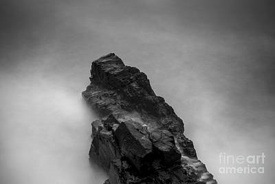 Art Print featuring the photograph The Cliff by Gunnar Orn Arnason