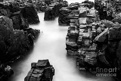 The Cliffs Art Print by Gunnar Orn Arnason