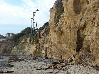 The Cliffs Art Print by John Wilson