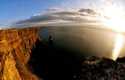 Ireland Photograph - The Cliffs by Keith Harkin