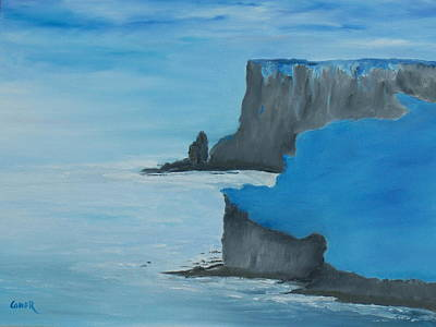 Painting - The Cliffs Of Moher by Conor Murphy