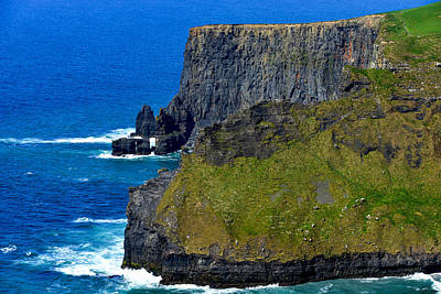 Photograph - The Cliffs Of Moher In Ireland by Marilyn Burton