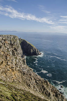 Slieve League Photograph - The Cliffs Of Slieve League - Donegal Ireland by Bill Cannon