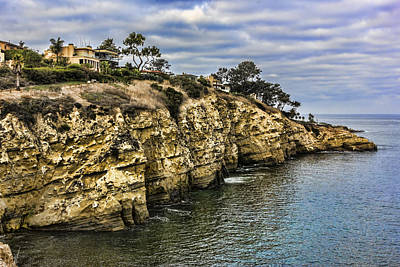 Digital Art - The Cliffs by Photographic Art by Russel Ray Photos