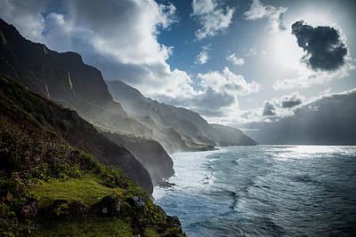 The Cliffs Of Kalalau Art Print