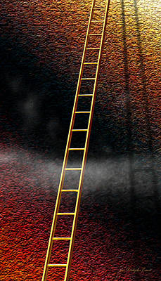 Struggling Digital Art - The Climb by Cristophers Dream Artistry
