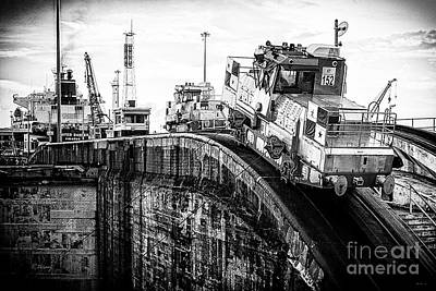 Photograph - The Climbing Mule Of The Panama Canal II by Rene Triay Photography