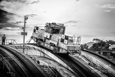 Photograph - The Climbing Mule Panama Canal by Rene Triay Photography