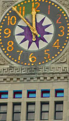 Photograph - The Clock Of Boston by Caroline Stella