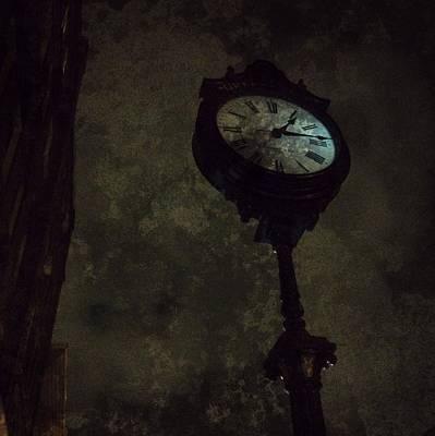 The Clock Of Greenpoint Art Print by Natasha Marco