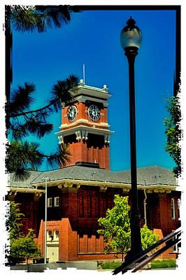Photograph - The Clock Tower At Bryan Hall - Washington State University by David Patterson