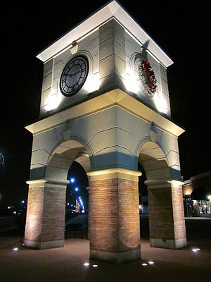 The Clock Tower Print by Guy Ricketts