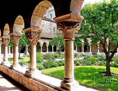 Monasticism Photograph - The Cloisters by Sarah Loft