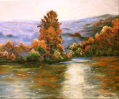 Painting - The Close Of An Autumn Day by Connie Tom