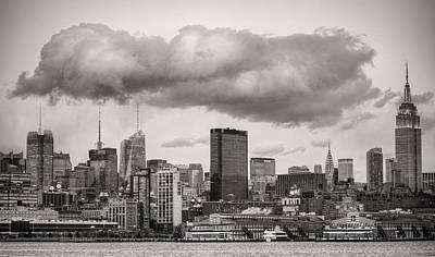 Photograph - The Cloud Bw by JC Findley
