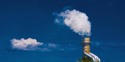 Photograph - The Cloud Factory by Meirion Matthias