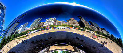 Photograph - The Cloud Gate by Jonny D