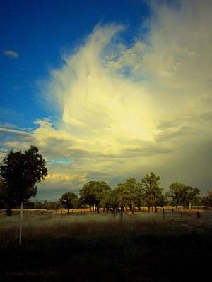 The Cloud Art Print by Joyce Dickens
