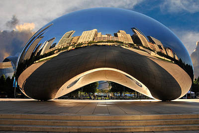 The Cloudgate Art Print by Ed Roth