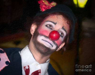 Photograph - The Clown by Kathleen K Parker
