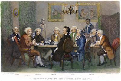 The Club, 1851 Art Print
