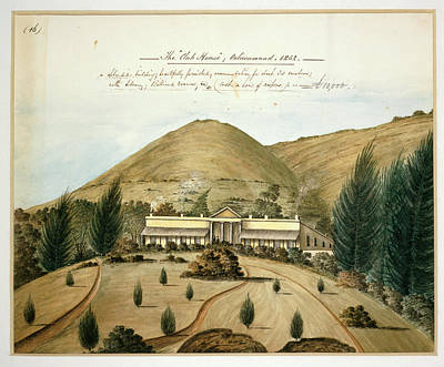 Land Feature Photograph - The Club House by British Library