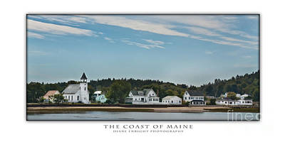 The Coast Of Maine Art Print