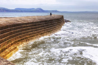 Dorset Photograph - The Cobb - Lyme Regis by Joana Kruse