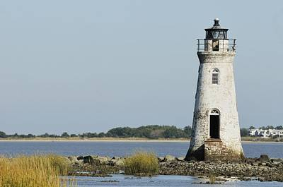 Photograph - The Cockspur Island Light And Tybee by Bradford Martin