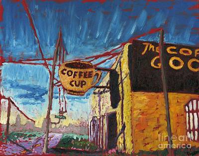 Good Charlotte Painting - The Coffee Cup by Preston Sandlin