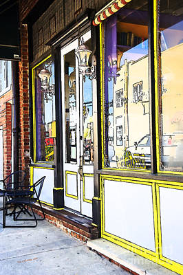 The Coffee Shop Art Print by Jim  Calarese