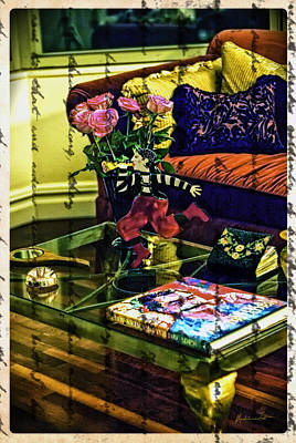 The Coffee Table Art Print by Madeline Ellis