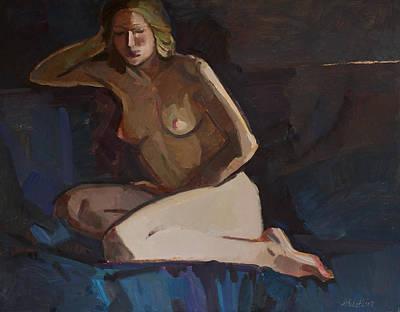 Painting - The Cold Morning by Juliya Zhukova