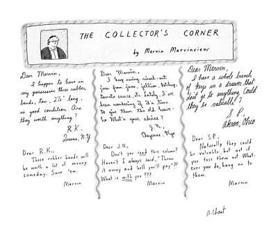 The Collector's Corner Art Print