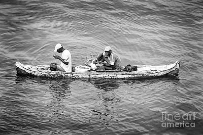 Photograph - The Colombian Fishermen by Rene Triay Photography