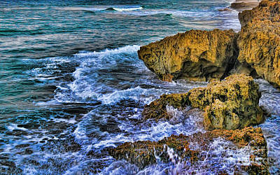 Seascape Photograph - The Color Of Evening by Olga Hamilton