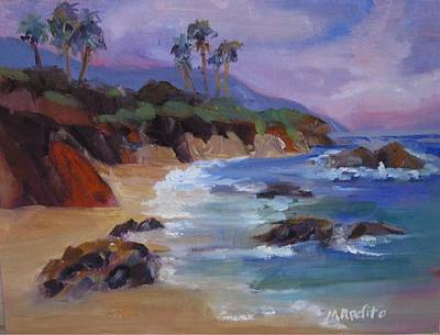 Painting - The Color Of Laguna by MaryAnne Ardito