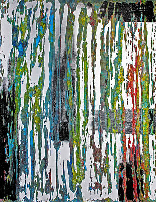 The Color Of Rain II Art Print by James Mancini Heath